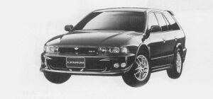 Mitsubishi Legnum VR-4 TYPE-S 1999 г.