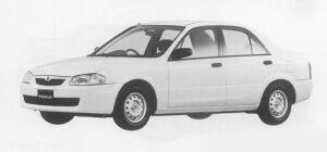 Mazda Familia SEDAN ES 1999 г.