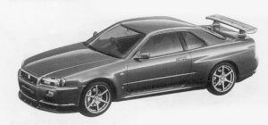 Nissan Skyline GT-R V-SPEC 1999 г.