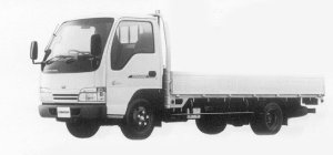 Nissan Diesel Condor 20 HIGH CAB, SUPER LOW, LONG 1999 г.