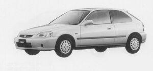 Honda Civic Ri (LEV) 1999 г.