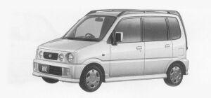 Daihatsu Move CUSTOM 1999 г.