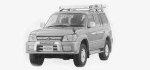 Toyota Land Cruiser Prado ACTIVE VACATION 1999 г.