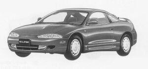 Mitsubishi Eclipse  1999 г.