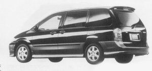 Mazda MPV SPORTS PACKAGE 1999 г.