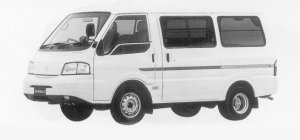 Mazda Bongo VAN WIDE&LOW 2WD HIGH ROOF 5DOOR GL 1999 г.
