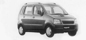 Suzuki Wagon R FX-T 1999 г.
