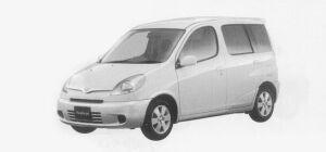 Toyota Funcargo X 1999 г.