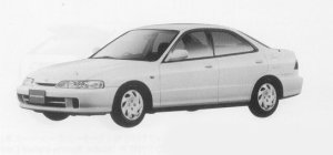 Honda Integra 4DOOR HARD TOP Ti 1999 г.
