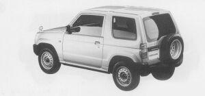 Mitsubishi Pajero Mini X 1999 г.