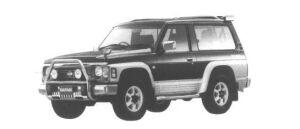 Nissan Safari HardTop Spirit type II 1995 г.