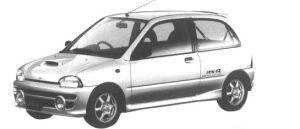 Subaru Vivio RX-R 1995 г.