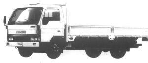 Mazda Titan 2T HIGH FLOOR, DOUBLE WIDE CAB LONG BODY 1995 г.