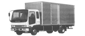 Isuzu Forward DRY VAN 210PS 3.65T 1995 г.