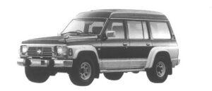 Nissan Safari Van 4WD Extra High Roof Granroad 1995 г.