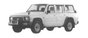 Nissan Safari VAN 4WD Extra Standard Roof DX 1995 г.