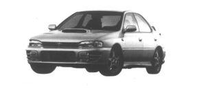Subaru Impreza 4door Sedan 2.0L 4WD WRX-STi Ver.II 1995 г.