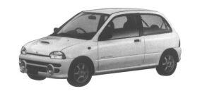 Subaru Vivio GX-L 3 door 1995 г.