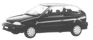 Suzuki Cultus 3 door 1000 F 1995 г.