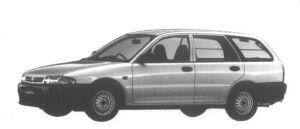 Mitsubishi Libero CARGO G 2WD 1500 1995 г.