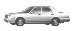 Nissan Cedric 4 door Sedan V30E Brougham VIP 1995 г.