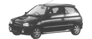 Subaru Vivio GX-R 1995 г.