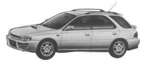 Subaru Impreza Sport Wagon 2.0L 4WD WRX 1995 г.