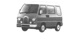 Subaru Sambar DIAS CLASSIC 1995 г.