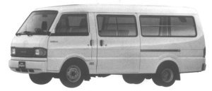 Mazda Bongo BRAWNY VAN WIDE LOW, LONG BODY 2.0GAS DX 1995 г.
