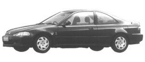 Honda Civic Coupe 1995 г.