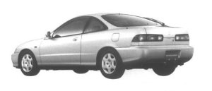 Honda Integra 3 door Coupe Xi-G 1995 г.