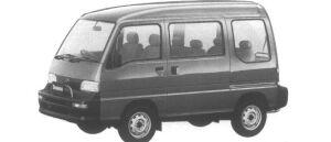 Subaru Domingo CV-B 1995 г.