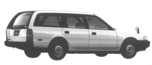Mazda Capella CARGO 1600 DX 1995 г.