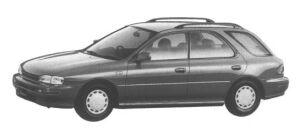 Subaru Impreza Sport Wagon 1.5L CS 1995 г.