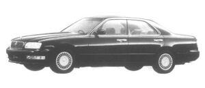 Nissan Gloria V30 Twincam Turbo Brougham VIP 1995 г.
