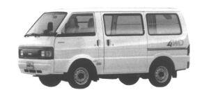 Nissan Vanette VAN 4WD LOW FLOOR STANDARD ROOF 5DOOR DX 1995 г.