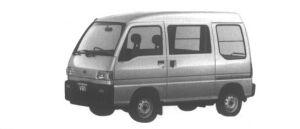 Subaru Sambar VAN HIGH ROOF SDX 1995 г.