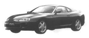 Toyota Supra RZ-S 1995 г.