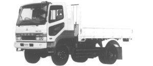 Mitsubishi Fighter 4WD 3.75T 1995 г.