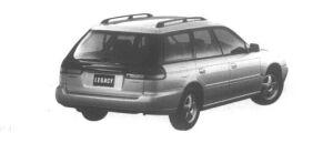 Subaru Legacy Touring Wagon Brighton GOLD 1995 г.