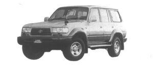 Toyota Land Cruiser 80 Wagon VX Limited 1995 г.
