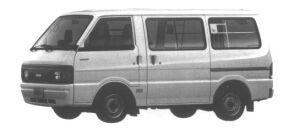 Nissan Vanette VAN 2WD FLAT FLOOR, STANDARD ROOF DX 1995 г.
