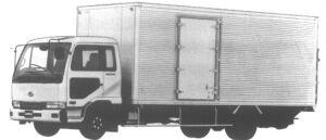 Nissan Diesel Condor DRY VAN 1995 г.