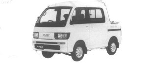 Daihatsu Hijet DECK VAN GX 4WD 1995 г.