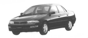 Toyota Carina 1.8SE Extra SC Package 1995 г.