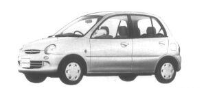 Mitsubishi Minica 5 door Px 1995 г.