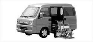 Subaru Sambar Dias Wagon Trans Care Electric Lifter 2002 г.