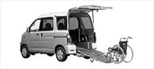 Daihatsu Atrai WAGON Sloper 2WD 2002 г.