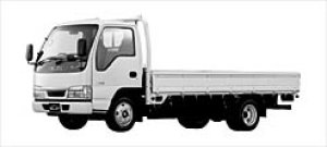 Isuzu Elf CNG Flat Low Long Body 2002 г.