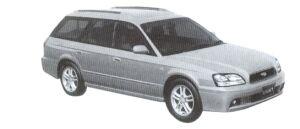 Subaru Legacy Touring Wagon 250S 2002 г.